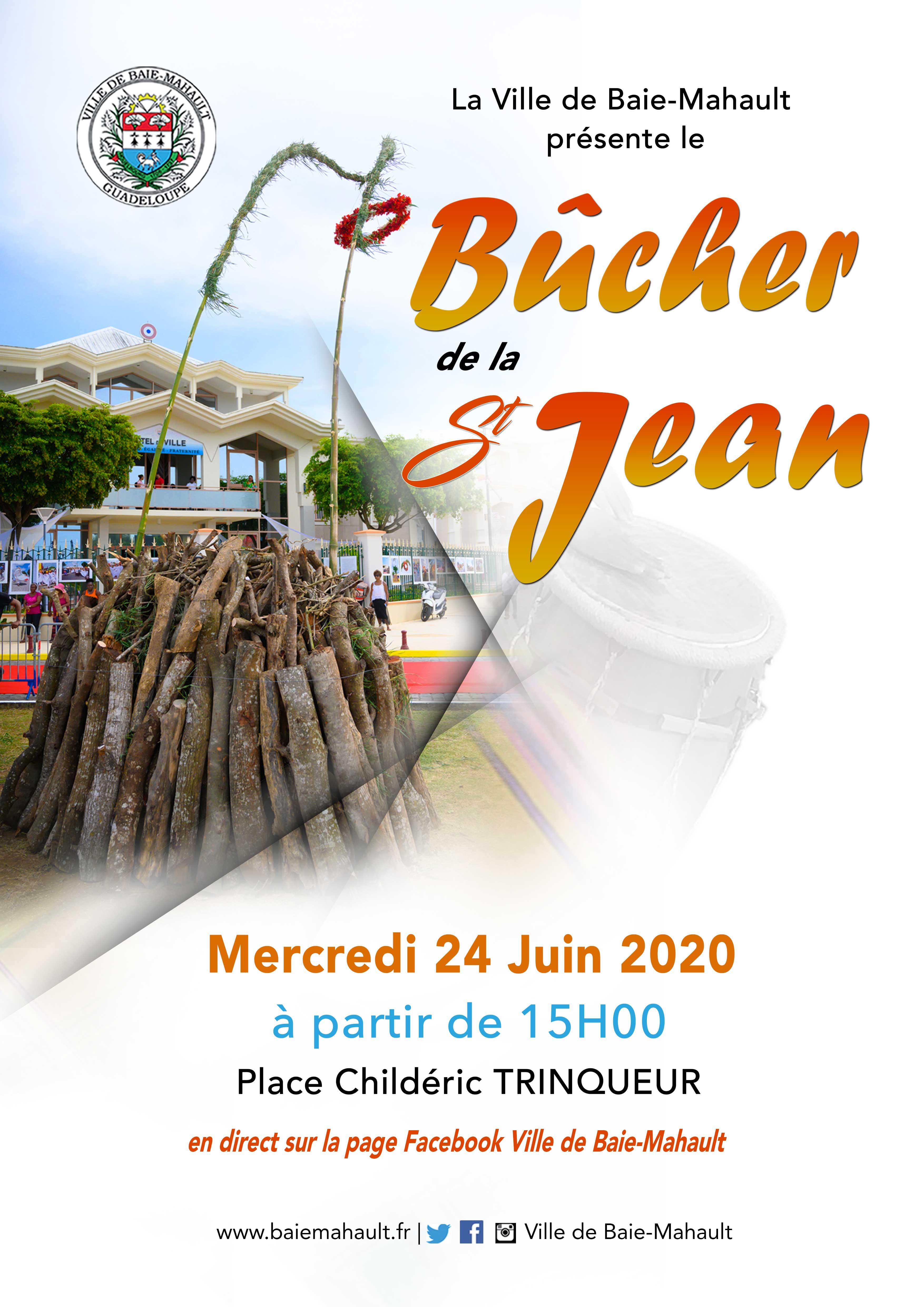 Ville de Baie-Mahault | Bûcher de la Saint-Jean
