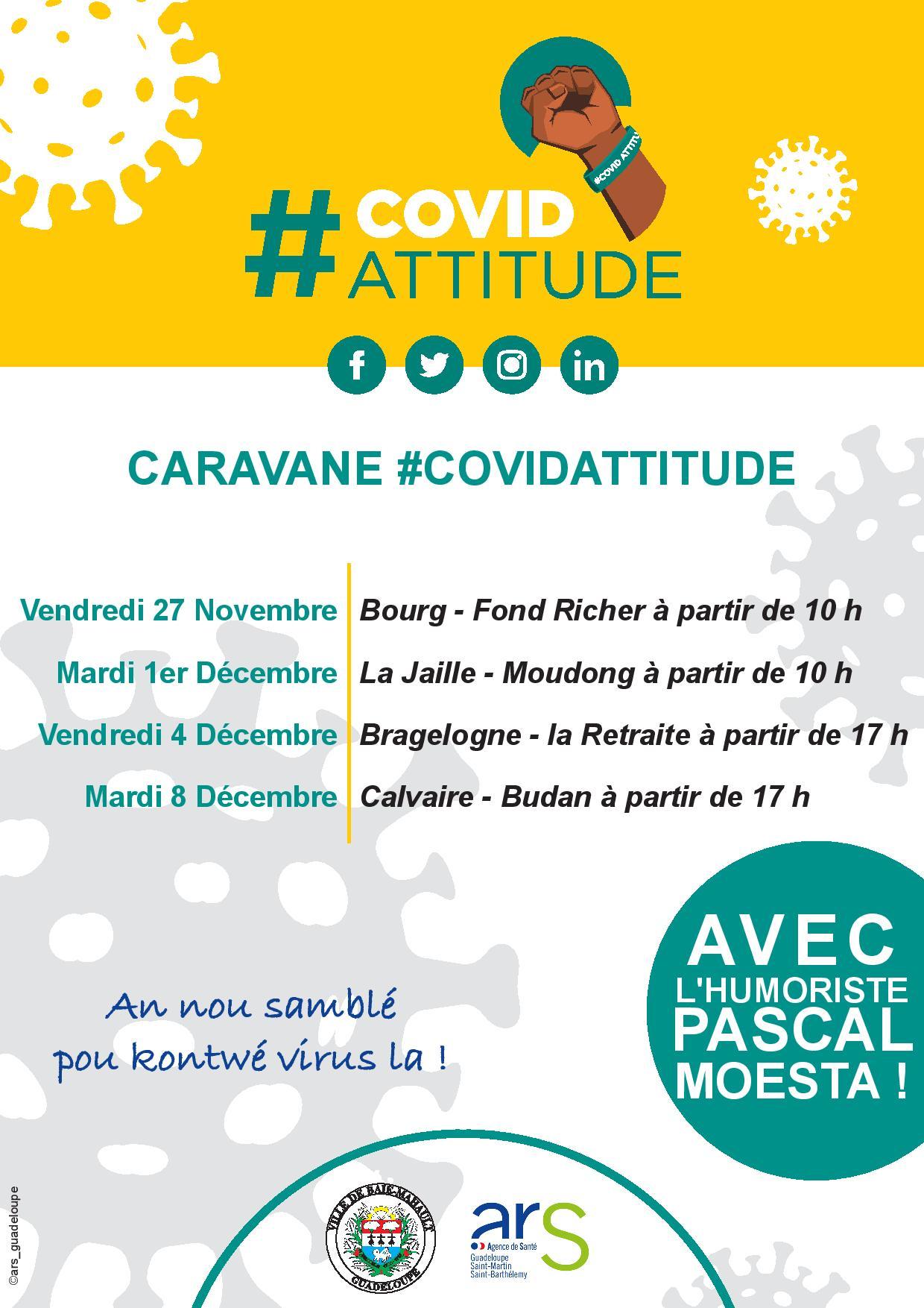 ARS - Programme Action Caravane Covid Attitude de la Ville de Baie-Mahault