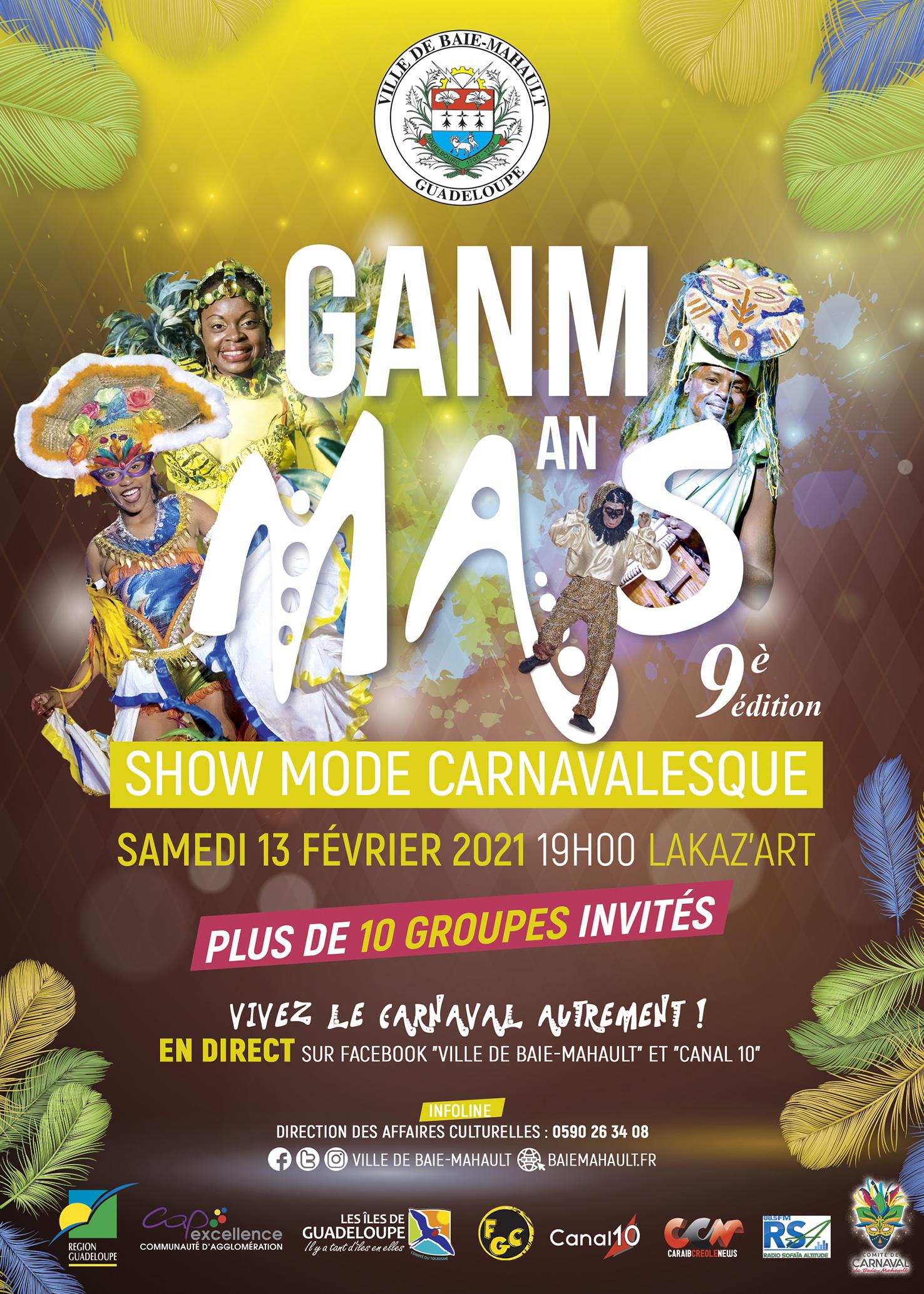 9ème édition du Ganm An Mas