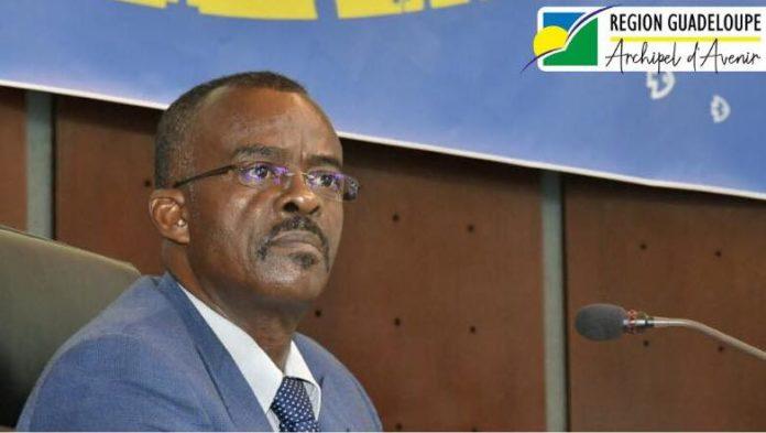 Ary CHALUS président de région Guadeloupe