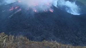 Soufriere Saint Vincent éruption 2021
