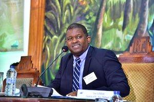 Guy Losbar, Président du conseil départemental de la Guadeloupe